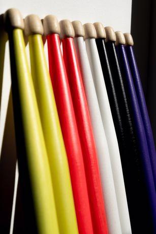 Барабанные палочки цветные