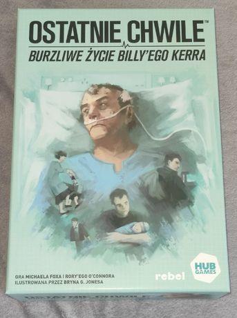 OSTATNIE CHWILE Burzliwe życie BILLY'EGO KERRA planszowa wysyłka 5zł