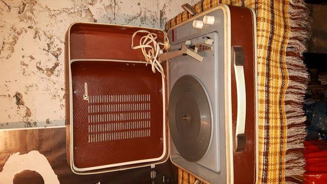 Gramofon adapter walizka PRL