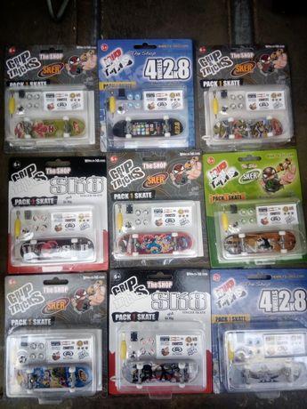 Miniaturas de skate colecionadores
