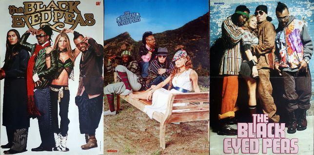 plakaty zespołu Black Eyed Peas i Fergie