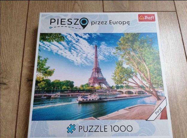 Puzzle Paryż, wieża Eiffla 1000 sztuk