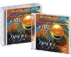 Mini CD-RWs, DVD-R e DVD-RWs - Ótimo preço