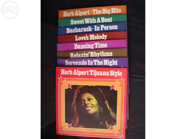 Herb Alpert & his Friends - Coleção de 8 discos de Vinil