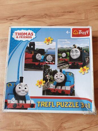 Trefl puzzle Thomas i przyjaciele 3 w 1