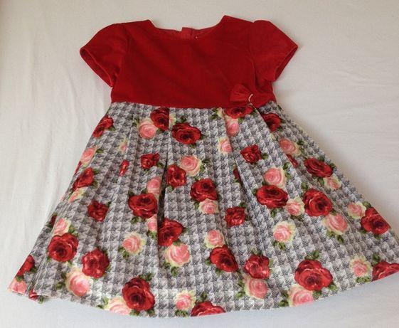 sukienka rozmiar 116