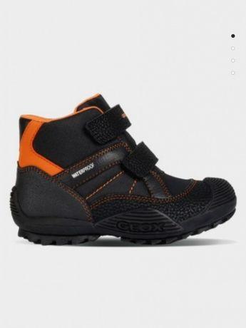 Весна Полу ботинки, ботинки, кроссовки Geox, Ecco