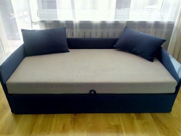 Łóżko Tapczan dwuosobowy z pojemnikiem