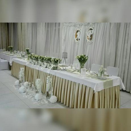 Dekoracje ślubne i okolicznościowe * Oświetlenie * Florystyka