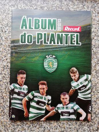Album do plantel 2012/13 - Sporting