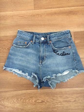 Spodenki jeansowe H&M r.S