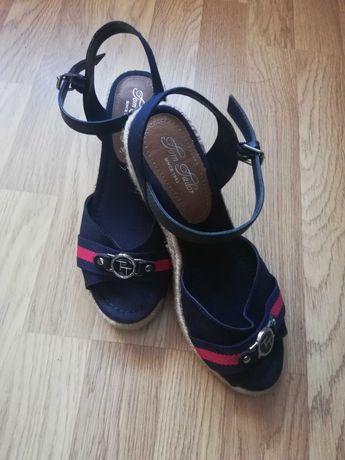 Sandały na platformie TOM TAILOR