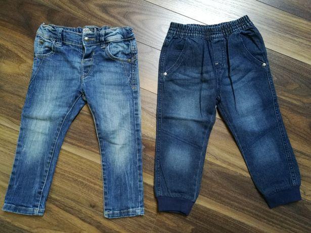 Spodenki jeansowe Mayoral r.92 + nowe Lupilu