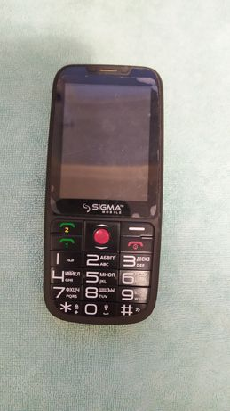 Телефон Sigma comfort 50 elegance