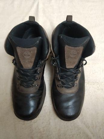 Ботинки кожаные фирменные без меха Timberland