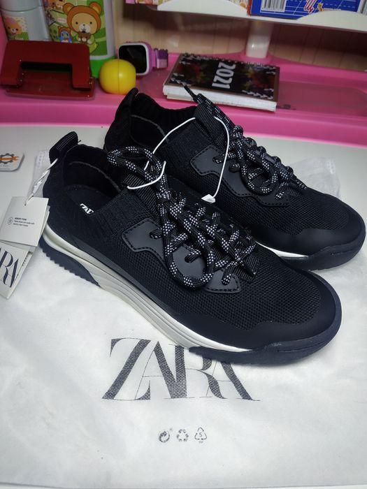 Кросовки черные 34 Zara  стильные новые кросівки чорні Луцк - изображение 1