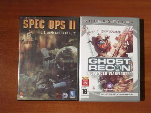 Zestaw 2 gier wojennych - Spec Ops II /Ghost Recon Advanced Warfighter