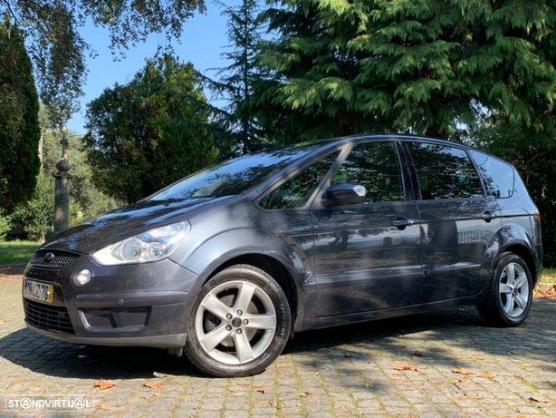 Ford S-Max 2.0 TDCI TITANIUM NACIONAL 40€ SELO DVD GPS