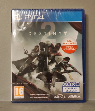 PlayStation 4! Destiny 2! PS4 - Polecam