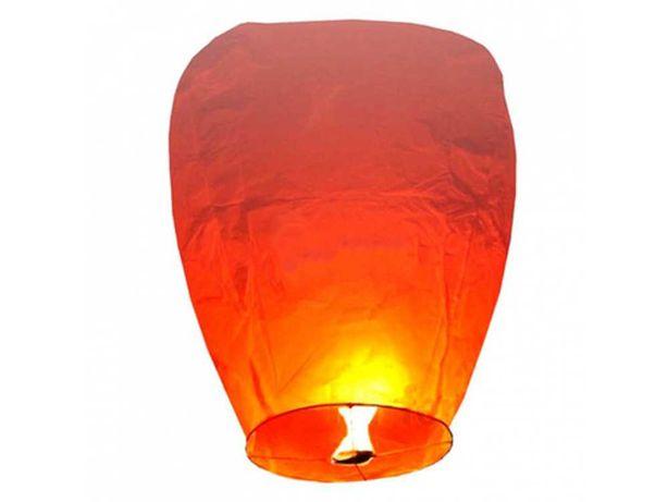 Метровый большой Китайський небесний фонарик желаний КУПОЛ на праздник