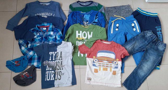 Zestaw ubrań dla chłopca rozm. 110-116