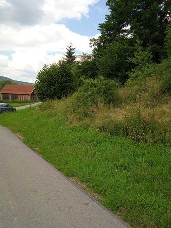 Żyznów 7 km od Strzyżowa przy asfalcie  na rekreację taniej o 2500