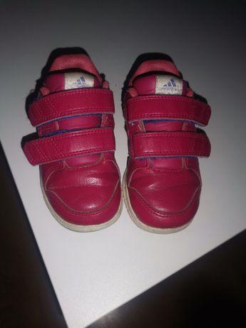 Różowe adidasy dziewczęce