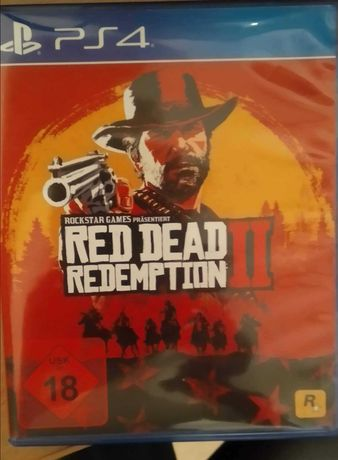 Gra Ps 4 'Red dead redemption 2'
