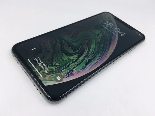 iPhone XS MAX 256GB SPACE GRAY• GWAR 12 msc • DARMOWA wysyłka •FAKTURA