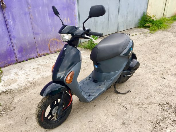 Продам мопед Suzuki Lets 4 на регистрации, инжектор