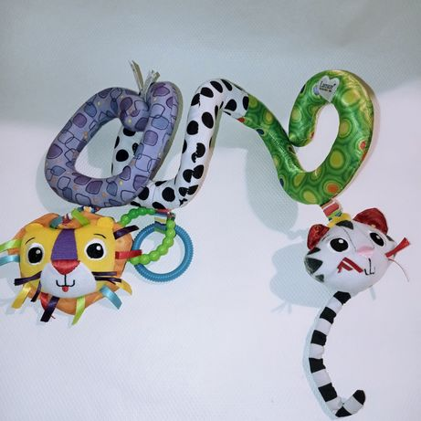 Змейка, растяжка,  спиралька на кроватку коляску. Ламазе. Lamaze