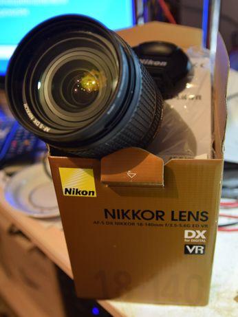 Об'єктив  Nikon 18-140 mm 3,5-5,6G