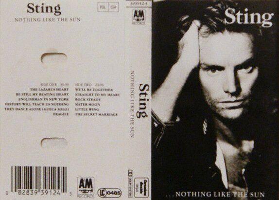 Cassette - Sting + Bon Jovi