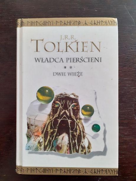 Książka Władca Pierścieni Dwie Wieże J.R.R. Tolkien twarda oprawa