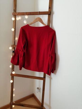 Blusa Vermelha Zara
