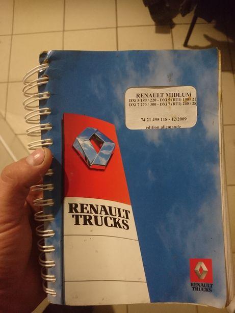 Инструкция Renault Midlum