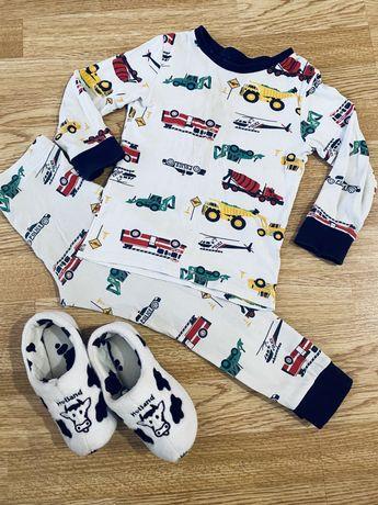Пижама + тапочки Primark
