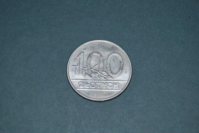 Starocia Moneta 100zł 1990r