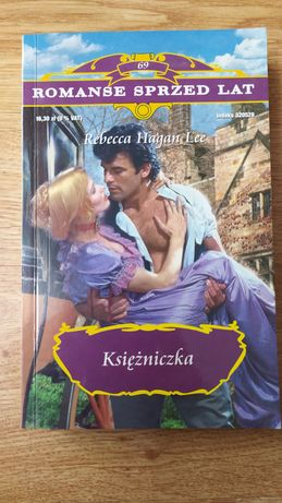 """Księżniczka"" Rebecca Hagan Lee Romanse sprzed lat książka 69"