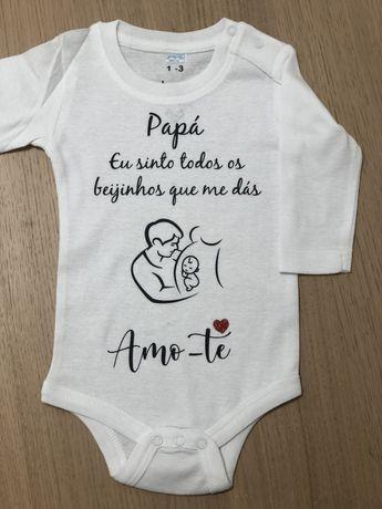 Bodys bebé, t-shirts, canecas  personalizados
