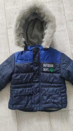Курточка зимняя детская 86