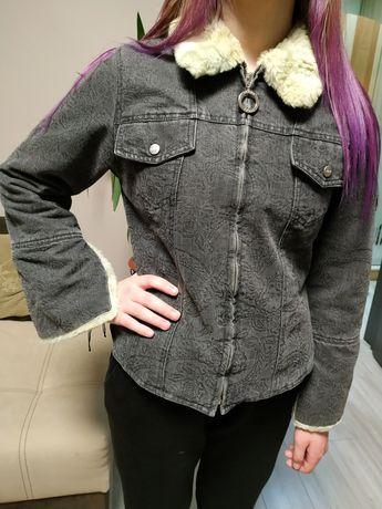 Джинсовая теплая куртка Ferre