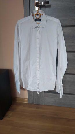 Koszula męska ślubna ze spinkami