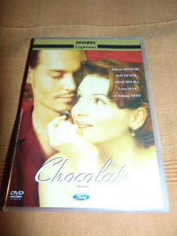 Filme Chocolate DVD c\ Jonny Depp e Juliette Binoche