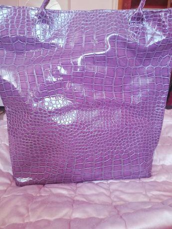 Torebka torba lakierowana