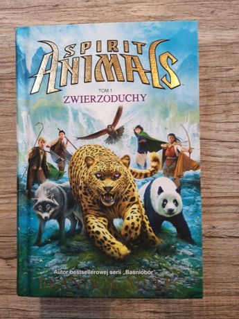 Seria Spirit Animals Zwierzoduchy Tom 1
