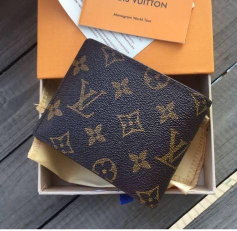 """Carteira de Homem Louis Vuitton """"Nova na caixa"""""""