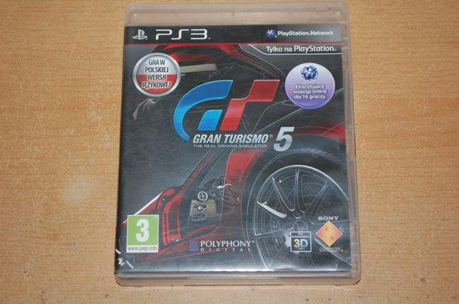 Gra Gran Turismo 5 na ps3