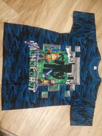 Koszulka Minecraft moro r 122