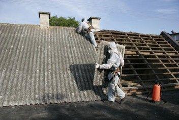 demontaż i utylizacja azbestu